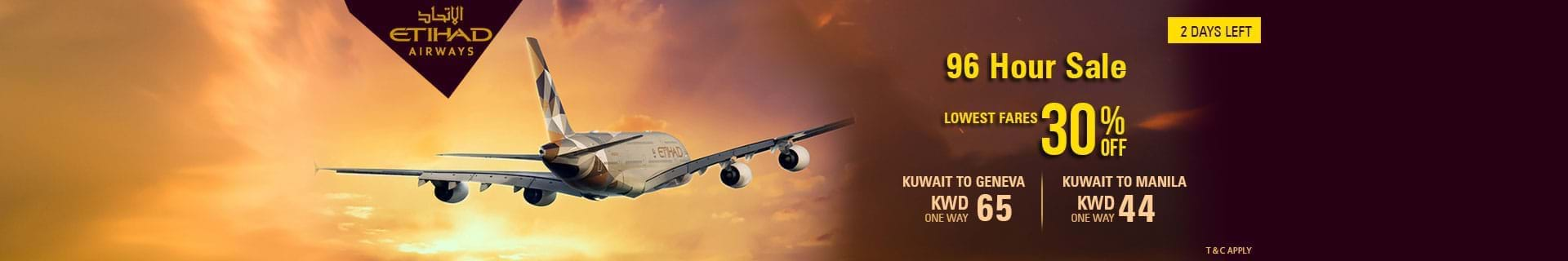 Book Flights from Kuwait to Major Destinations Starting from KWD 88
