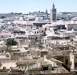 Flights to Tunis